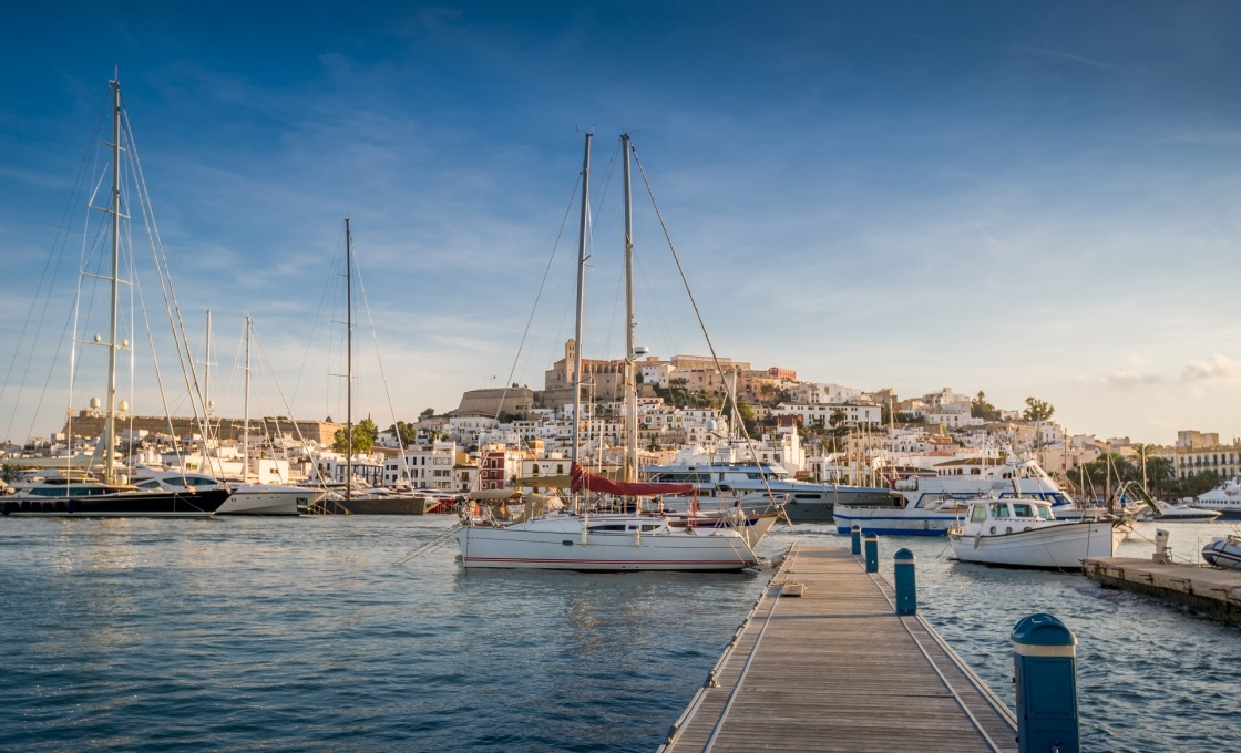 'Dalt Vila and Almudaina castle in Ibiza old town.' - Balearic Islands